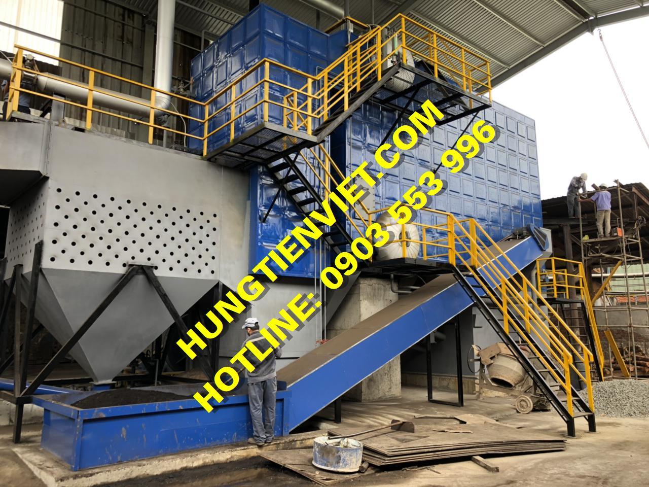 Dự án nồi hơi tầng sôi 12 tấn KCN Hòa Khánh, Đà Nẵng