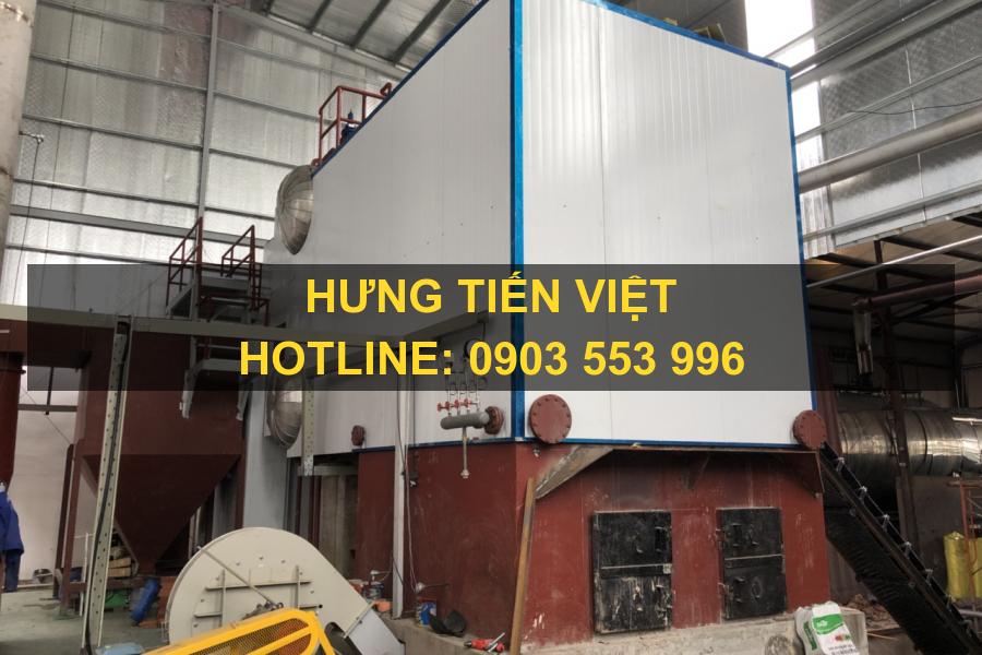 Dự án nồi hơi tầng sôi 8.5 tấn thị xã Thuận An, Bình Dương