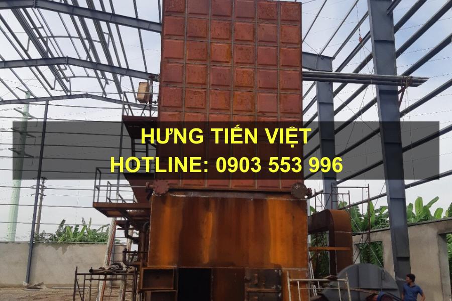 Hưng Tiến Việt - Triển khai thiết kế - chế tạo và lắp đặt nồi hơi tầng sôi cho Công ty TNHH Tân Huy Hoàng tại huyện An Dương, Hải Phòng. ☎ 0903.226.212 #noihoitangsoi #lohoitangsoi #noihoi #lohoi