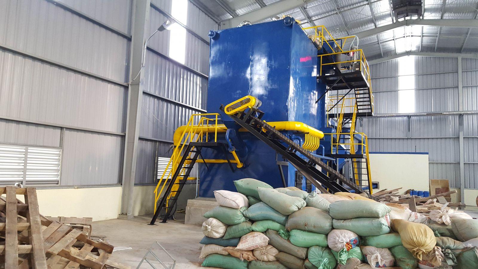 Dự án nồi hơi tầng sôi 6 tấn xã Lạc Hồng, Hưng Yên