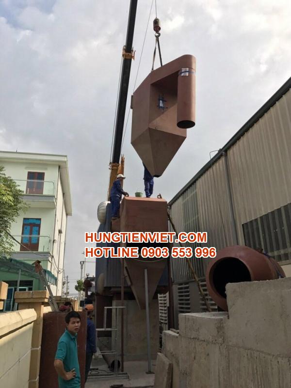 Hưng Tiến Việt - Triển khai thiết kế - chế tạo và lắp đặt nồi hơi tầng sôi cho Công ty TNHH Sản Xuất Giấy và Bao Bì Duy Khánh tại huyện Tân Yên, Bắc Giang. ☎ 0903.226.212 #noihoitangsoi #lohoitangsoi #noihoi #lohoi