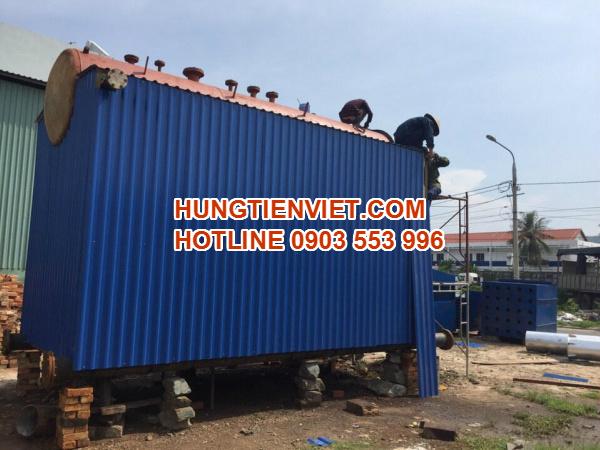 Hưng Tiến Việt - Triển khai thiết kế - chế tạo và lắp đặt nồi hơi tầng sôi cho nhà máy giấy Xương Giang tại Khu CN Song Khê, Bắc Giang. ☎ 0903.226.212 #noihoitangsoi #lohoitangsoi #noihoi #lohoi