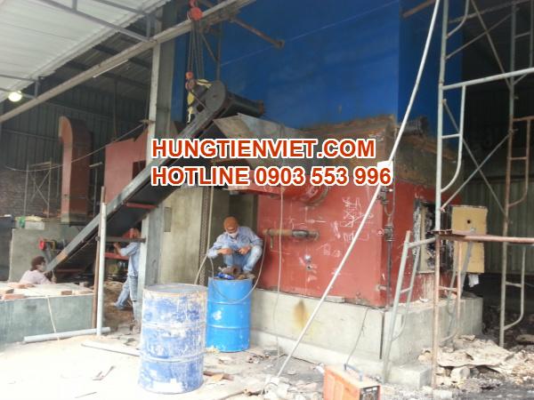 Dự án nồi hơi tầng sôi 4 tấn huyện Gia Lâm, Hà Nội