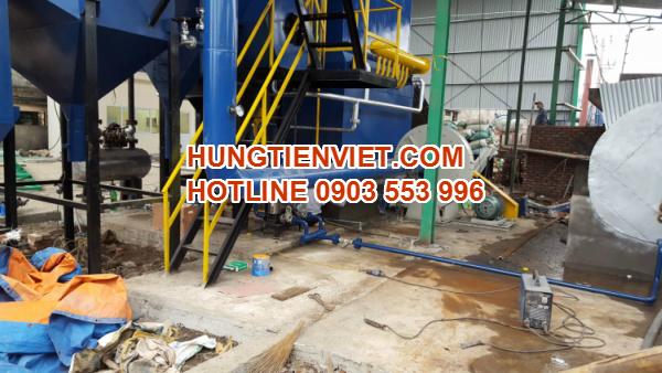 Dự án nồi hơi tầng sôi 4 tấn xã Thanh Long, tỉnh Hưng Yên