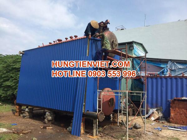 Dự án nồi hơi tầng sôi 12 tấn huyện Yên Dũng, Bắc Giang