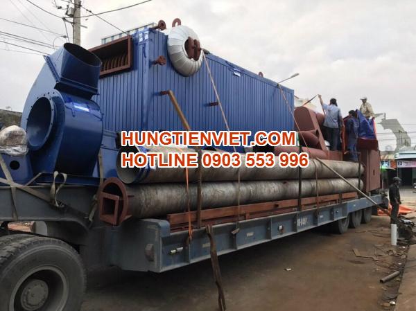 Dự án nồi hơi tầng sôi 4 tấn huyện Tân Yên, Bắc Giang