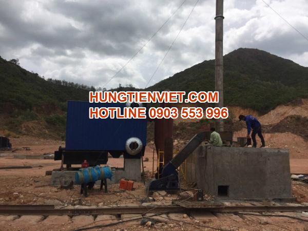 Dự án nồi hơi tầng sôi 2 tấn Tp. Quy Nhơn, Bình Định