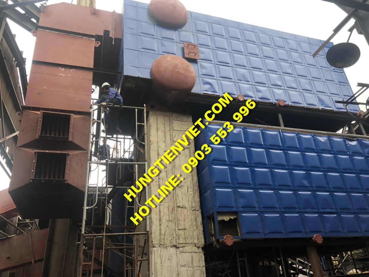 Dự án nồi hơi tầng sôi 15 tấn KCN Song Khê, Bắc Giang