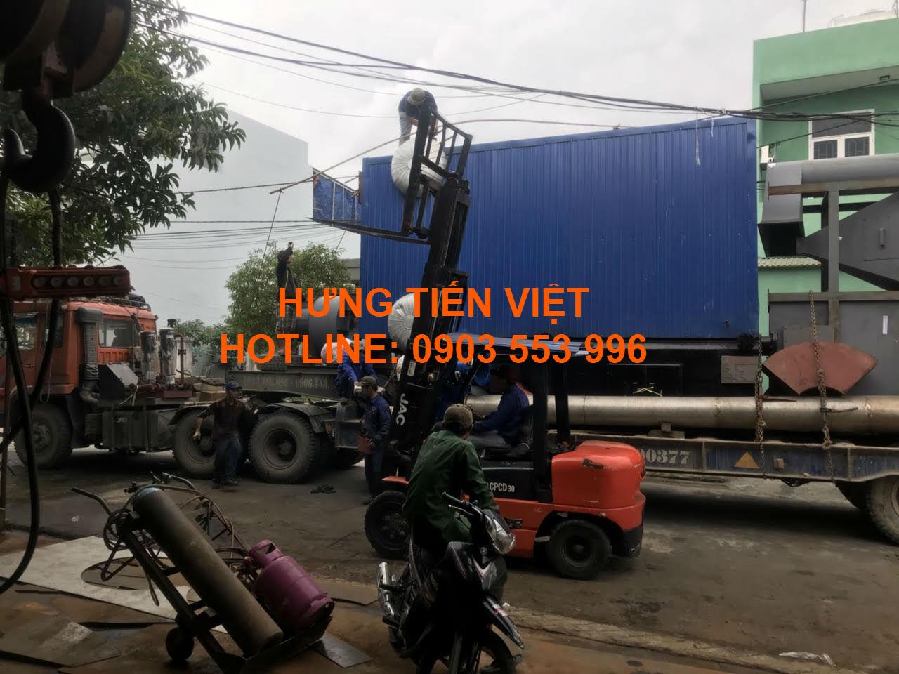Dự án nồi hơi tầng sôi 4 tấn quận Cẩm Lệ, Đà Nẵng