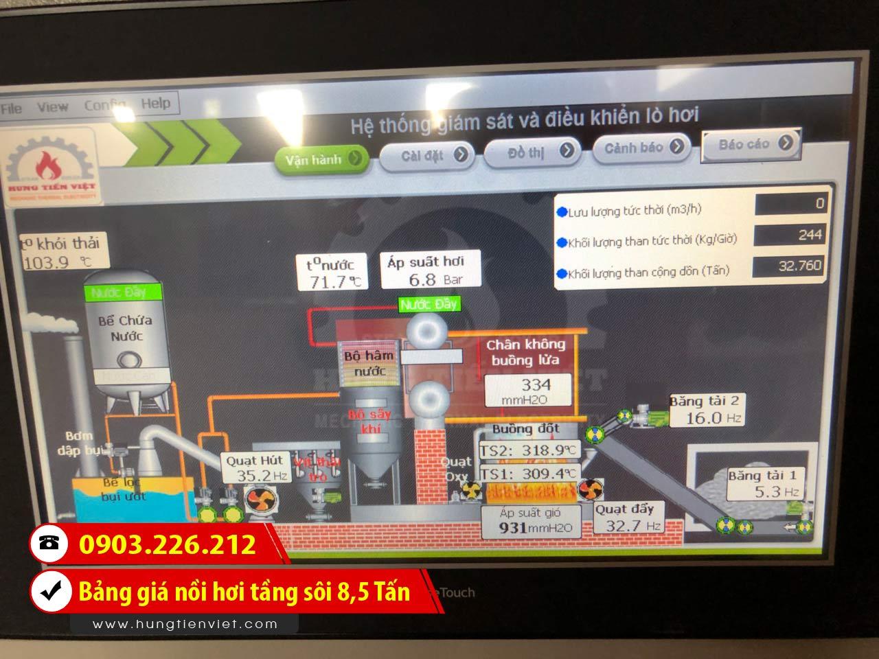 Bảng báo giá nồi hơi tầng sôi 8.5 tấn - lò hơi tầng sôi 8.5 tấn công nghệ mới và dịch vụ thiết kế - chế tạo - lắp đặt trọn gói. Gọi ☎ 0903.226.212 #noihoitangsoi #lohoitangsoi #noihoi #lohoi