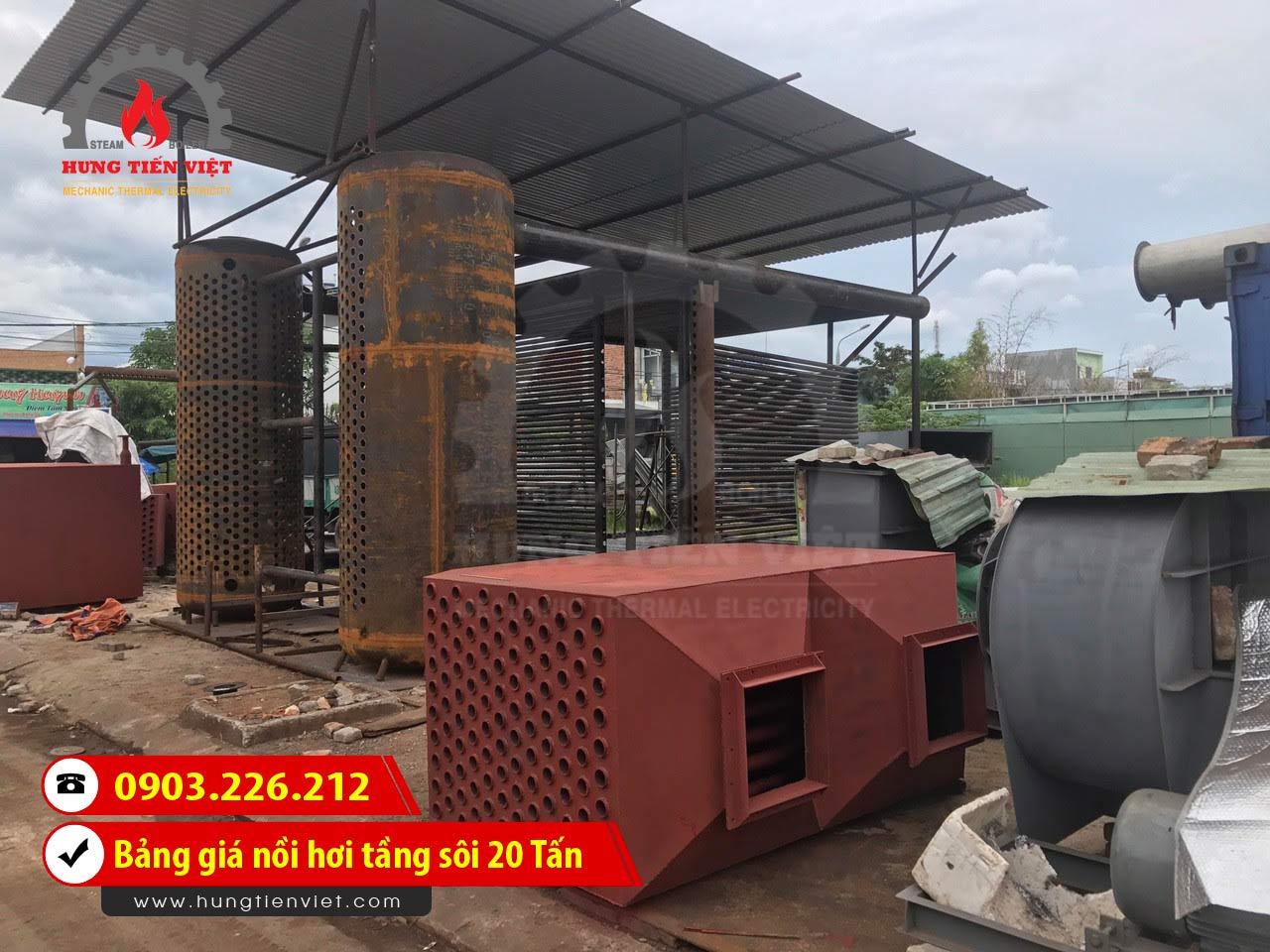 Bảng báo giá nồi hơi tầng sôi 20 tấn - lò hơi tầng sôi 20 tấn công nghệ mới và dịch vụ thiết kế - chế tạo - lắp đặt trọn gói. Gọi ☎ 0903.226.212 #noihoitangsoi #lohoitangsoi #noihoi #lohoi