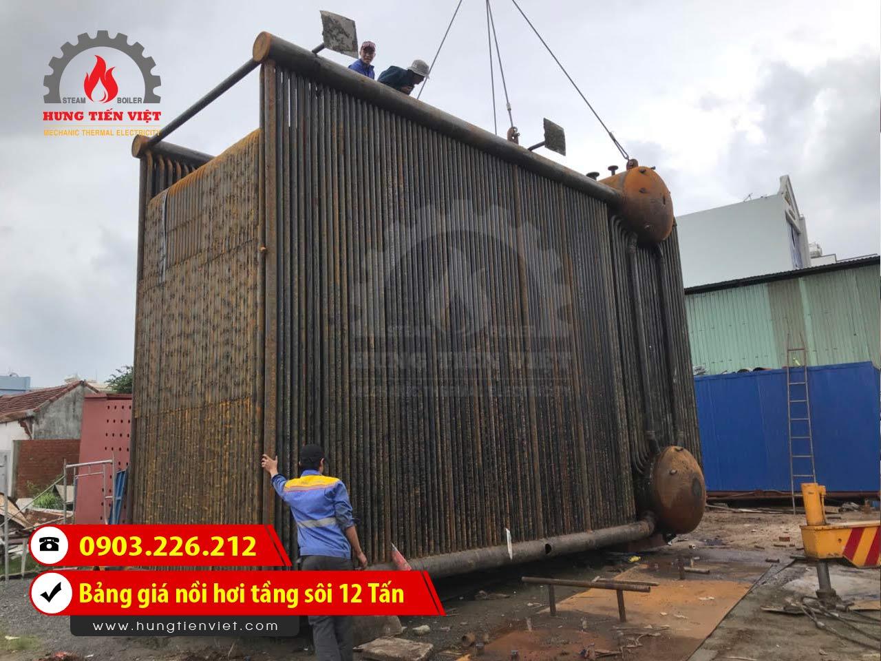 Bảng báo giá nồi hơi tầng sôi 12 tấn - lò hơi tầng sôi 12 tấn công nghệ mới và dịch vụ thiết kế - chế tạo - lắp đặt trọn gói. Gọi ☎ 0903.226.212 #noihoitangsoi #lohoitangsoi #noihoi #lohoi