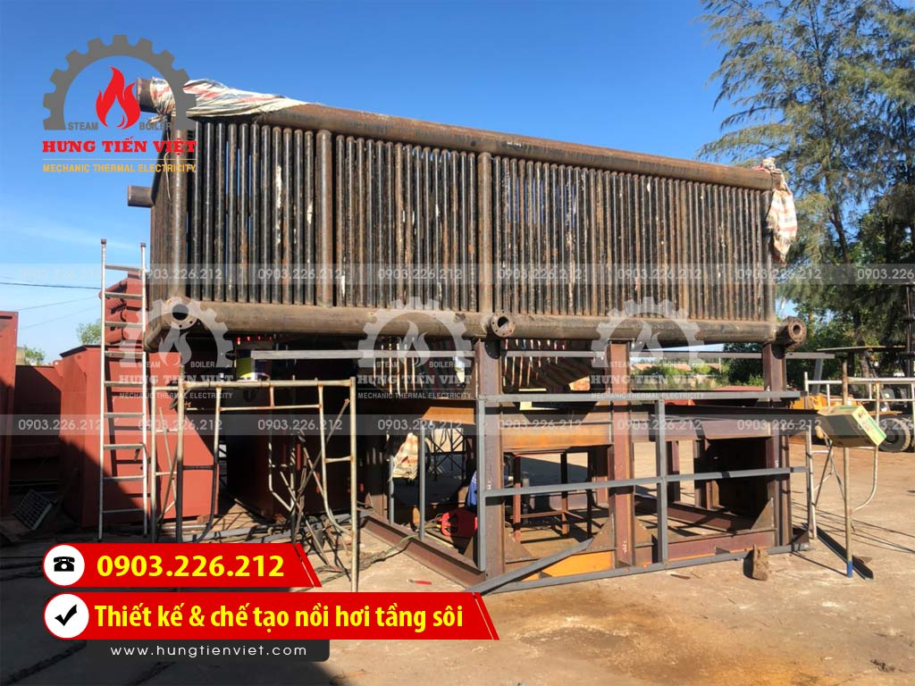 Công ty Hưng Tiến Việt chuyên dịch vụ thiết kế & chế tạo nồi hơi tầng sôi cho khách hàng với hơn 10+ năm kinh nghiệm. ☎ 0903.226.212 #noihoitangsoi #lohoitangsoi #noihoi #lohoi