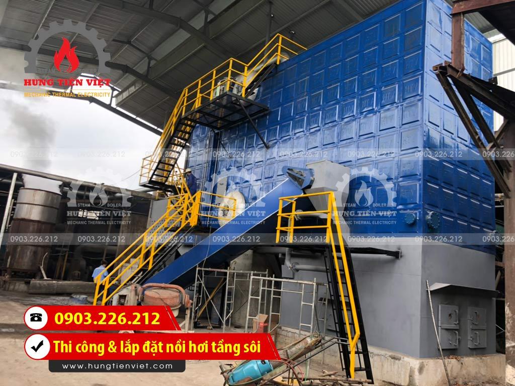 Công ty Hưng Tiến Việt - Kỹ sư và thợ thi công đang triển khai dự án thi công & lắp đặt nồi hơi tầng sôi tại quận Hoàng Mai, Hà Nội. ☎ 0903.226.212 #noihoitangsoi #lohoitangsoi #noihoi #lohoi