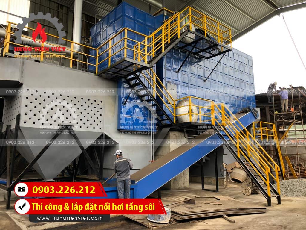 Công ty Hưng Tiến Việt - Kỹ sư và thợ thi công đang triển khai dự án thi công & lắp đặt nồi hơi tầng sôi tại Đà Nẵng. ☎ 0903.226.212 #noihoitangsoi #lohoitangsoi #noihoi #lohoi