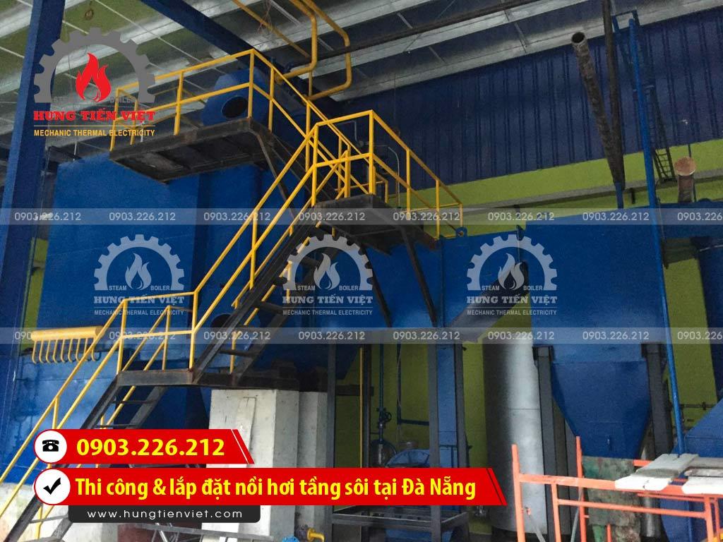 Công ty Hưng Tiến Việt - Kỹ sư và thợ thi công đang triển khai dự án thi công & lắp đặt nồi hơi tầng sôi tại quận Ngũ Hành Sơn, Đà Nẵng. ☎ 0903.226.212 #noihoitangsoi #lohoitangsoi #noihoi #lohoi