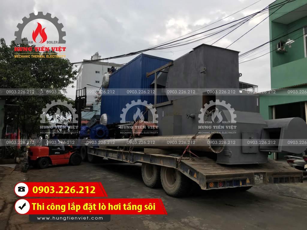 Công ty Hưng Tiến Việt - Kỹ sư và thợ thi công đang triển khai dự án thi công & lắp đặt lò hơi tầng sôi tại Thái Bình. ☎ 0903.226.212 #noihoitangsoi #lohoitangsoi #noihoi #lohoi