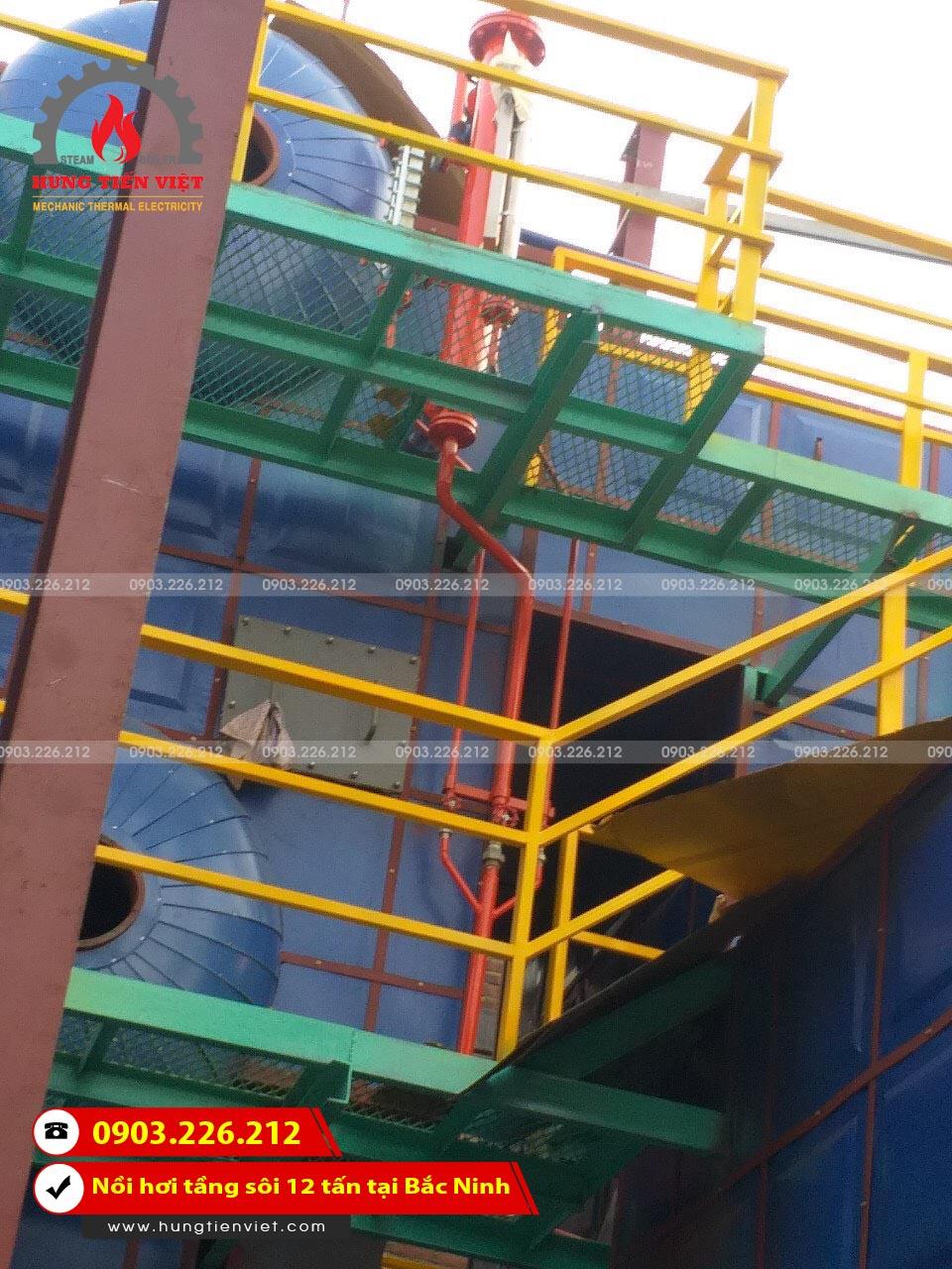 Hưng Tiến Việt - Triển khai thiết kế - chế tạo và lắp đặt nồi hơi tầng sôi cho Công ty Cổ Phần Tiến Thành tại KCN Quế Võ, Bắc Ninh. ☎ 0903.226.212 #noihoitangsoi #lohoitangsoi #noihoi #lohoi