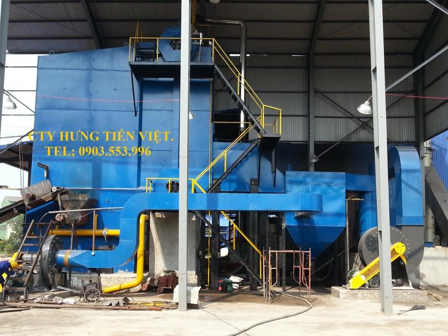 Dự án nồi hơi tầng sôi 12 tấn phường Quán Triều, Thái Nguyên