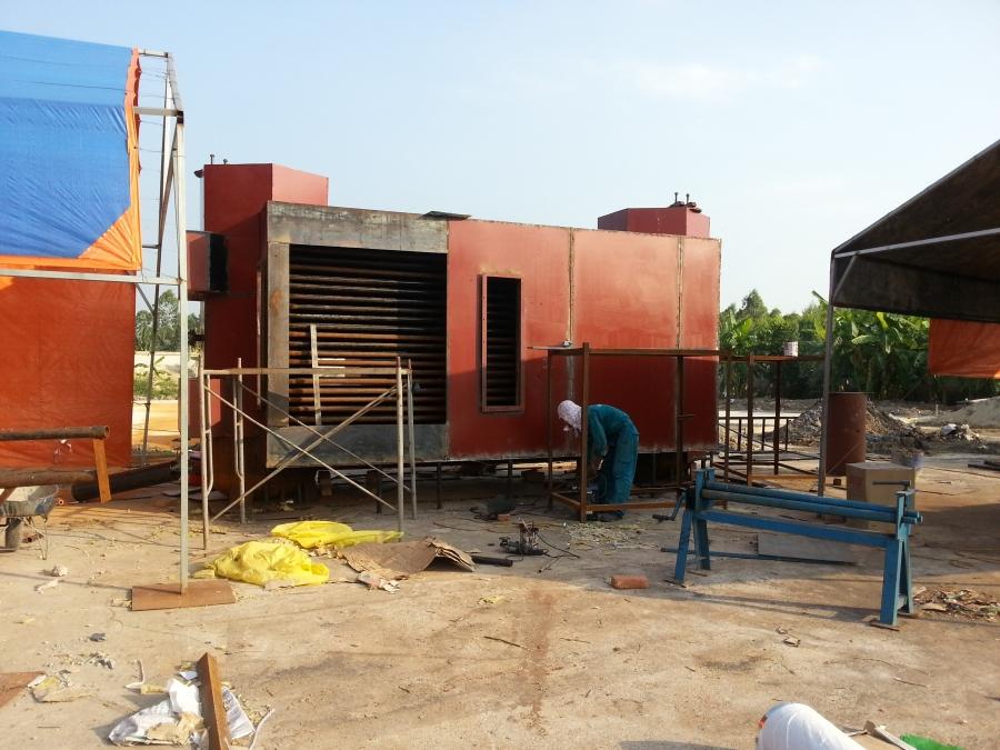 Dự án nồi hơi tầng sôi 6 tấn huyện Yên Dũng, Bắc Giang