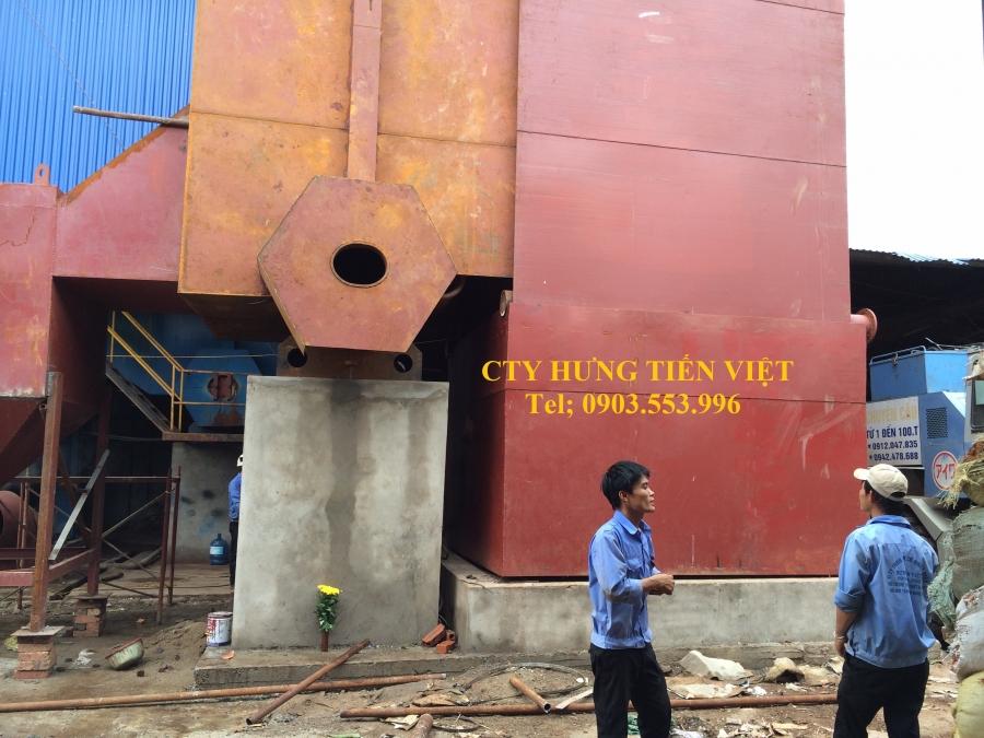 Dự án nồi hơi tầng sôi 8 tấn xã Song Khê, Bắc Giang