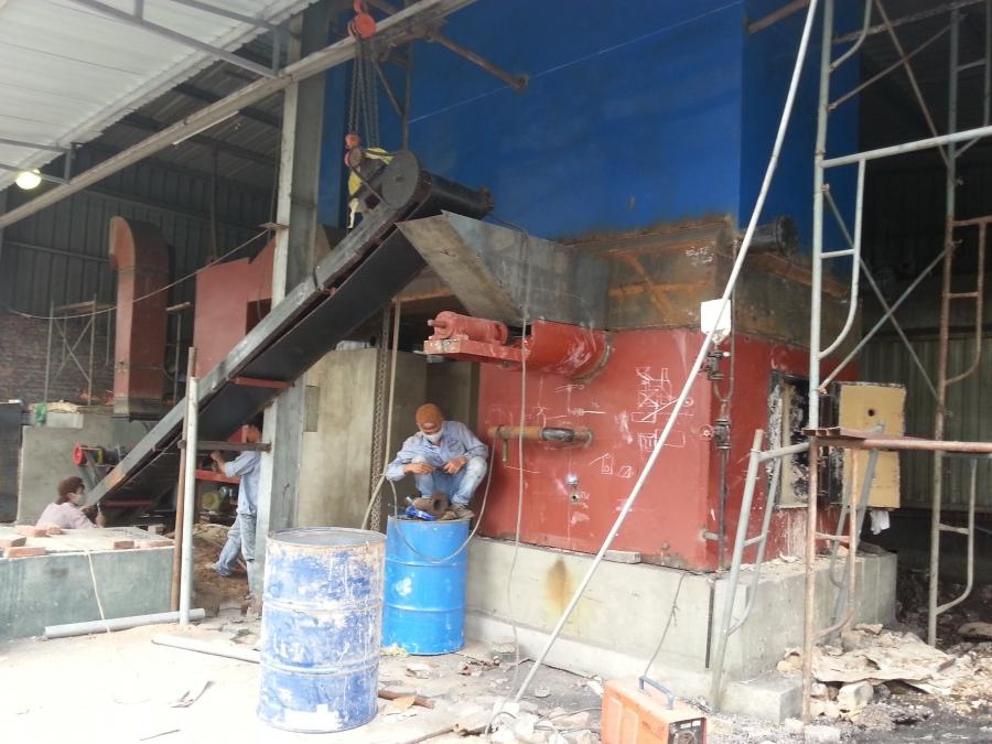 Dự án nồi hơi tầng sôi 4 tấn KCN Happro, Hà Nội