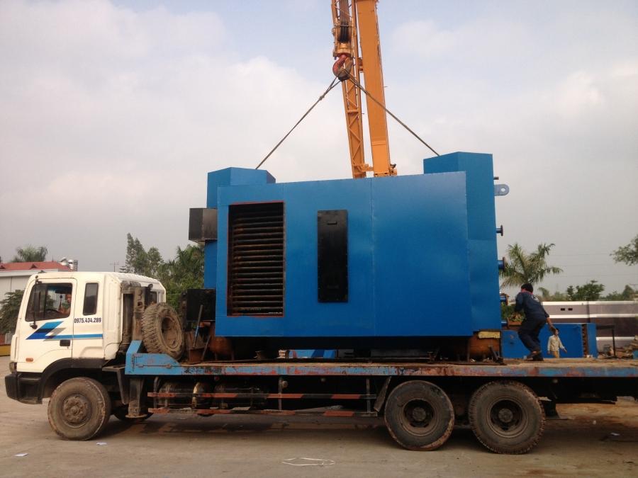 Dự án nồi hơi tầng sôi 10 tấn huyện Yên Dũng, Bắc Giang