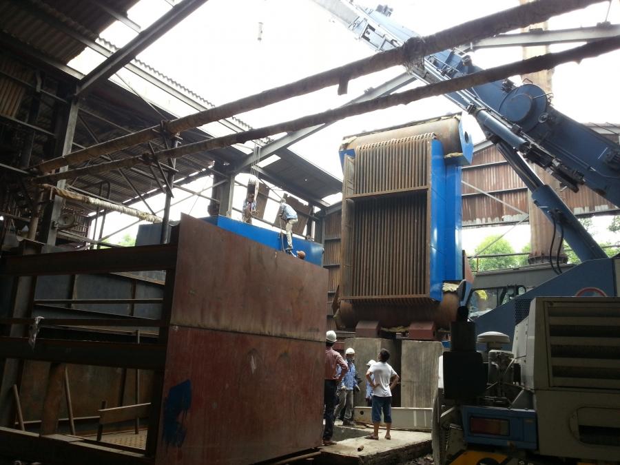 Hưng Tiến Việt - Triển khai thiết kế - chế tạo và lắp đặt nồi hơi tầng sôi cho Công ty CP XNK Bắc Giang tại huyện Yên Dũng, Bắc Giang. ☎ 0903.226.212 #noihoitangsoi #lohoitangsoi #noihoi #lohoi