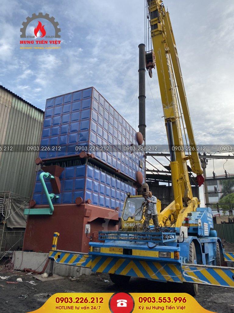 Thiết kế chế tạo và lắp đặt nồi hơi 12 tấn tại nhà máy Công ty TNHH Đông Á Bắc Ninh thuộc phường Phong Khê, Bắc Ninh. ☎ 0903.226.212 #noihoitangsoi #lohoitangsoi #noihoi #lohoi