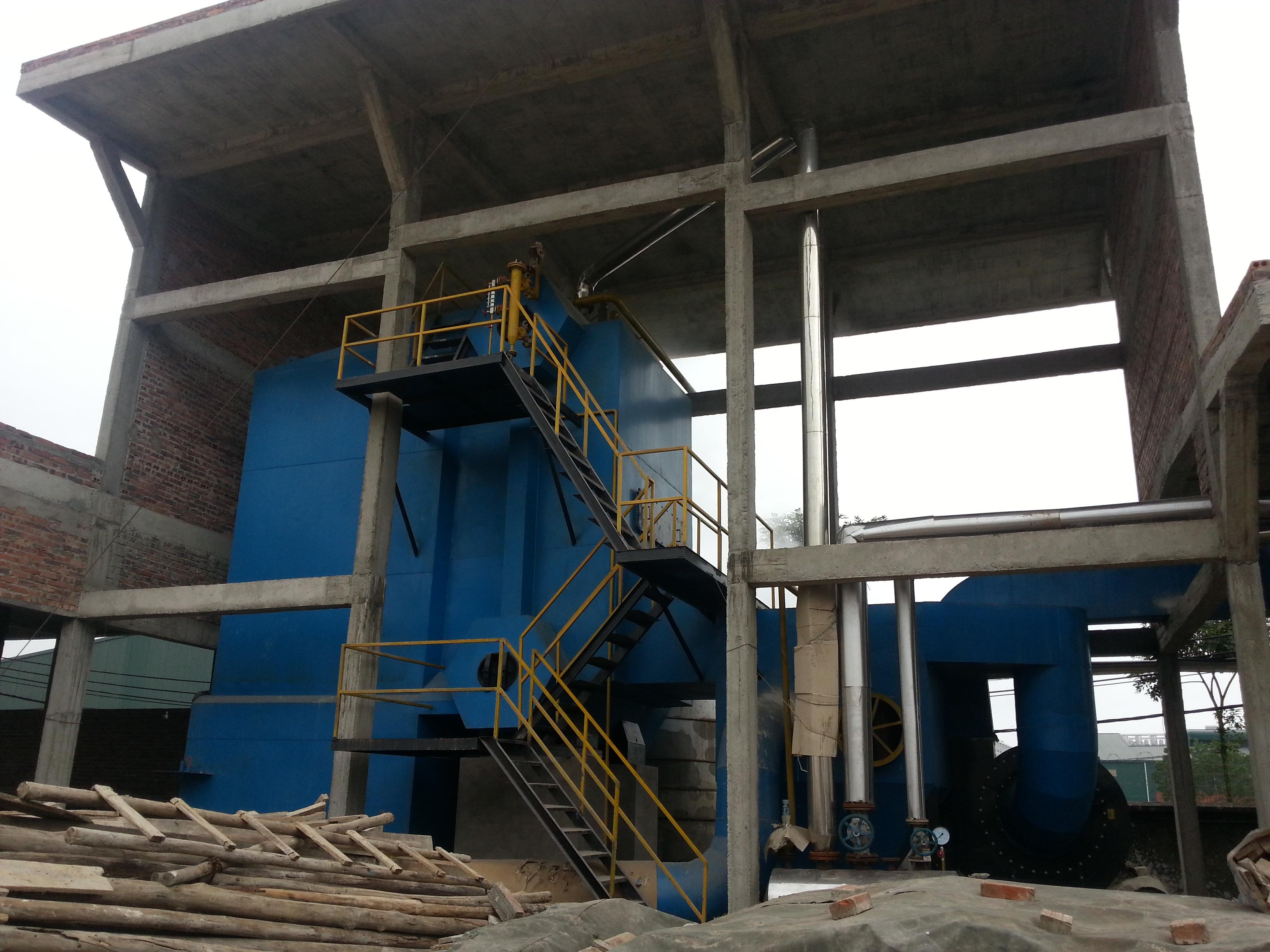 Hưng Tiến Việt - Triển khai thiết kế - chế tạo và lắp đặt nồi hơi tầng sôi cho Công ty CP Tiến Thành tại huyện Quế Võ, Bắc Ninh. ☎ 0903.226.212 #noihoitangsoi #lohoitangsoi #noihoi #lohoi